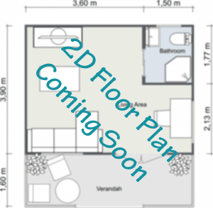 2D Cabin Floor Plan Coming Soon
