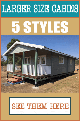 Cabin Life Timber Cabin 5 Styles May 21