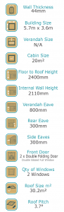 Cabinlife The Pool House Cabin Specs